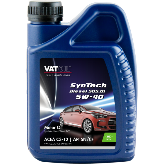 1 L bottle VatOil SynTech Diesel 505.01