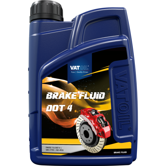 1 L bottle VatOil Brake Fluid DOT 4