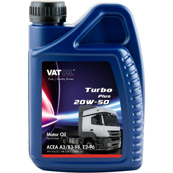 1 L bottle VatOil Turbo Plus 20W-50