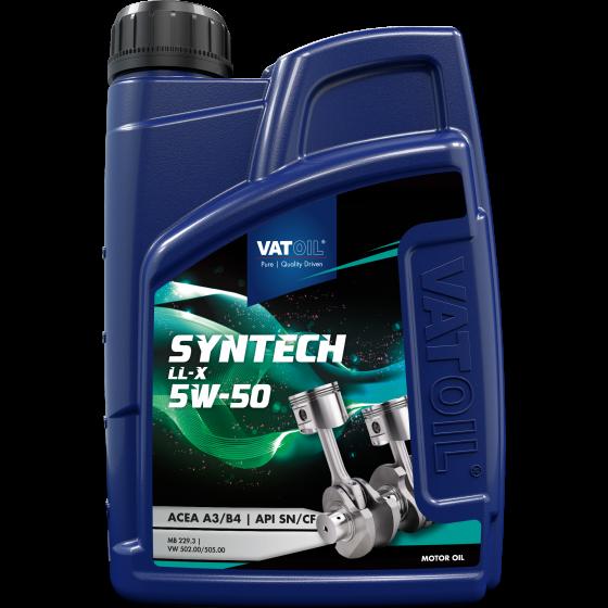 1 L bottle VatOil SynTech LL-X 5W-50