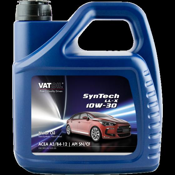 4 L can VatOil SynTech LL-X 10W-30