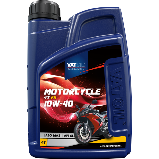 1 L bottle VatOil Motorcycle 4T FS 10W-40