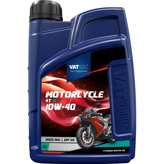 1 L bottle VatOil Motorcycle 4T M 10W-40