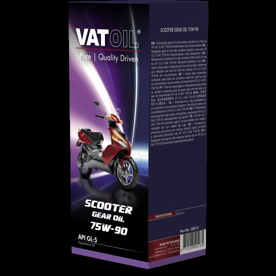 125 ml pouch VatOil Scooter Gear Oil