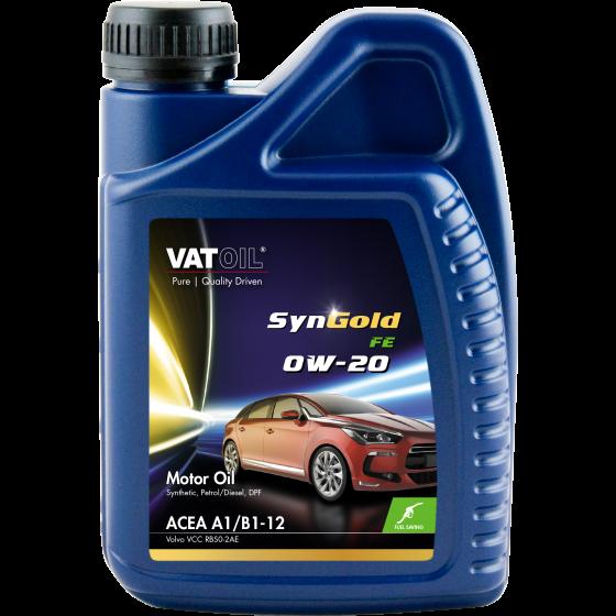 1 L bottle VatOil SynGold FE 0W-20