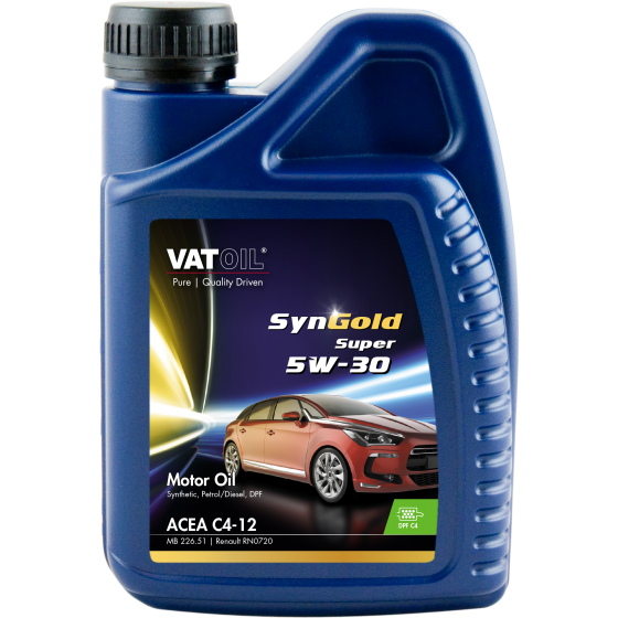 1 L bottle VatOil SynGold Super 5W-30