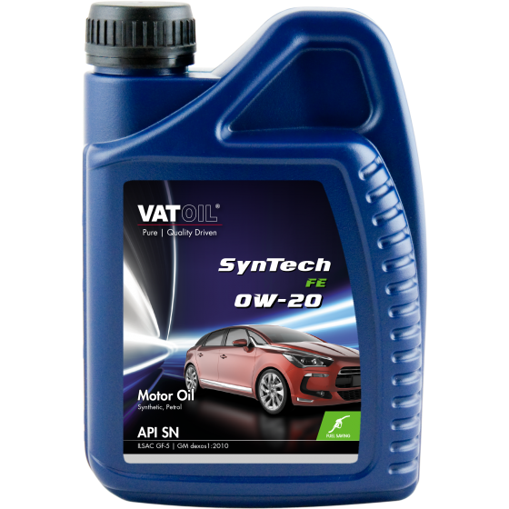 1 L bottle VatOil SynTech FE 0W-20