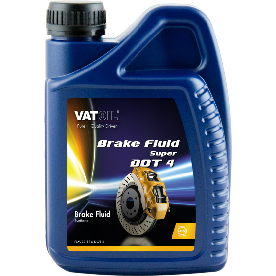 1 L bottle VatOil Brake Fluid Super DOT 4