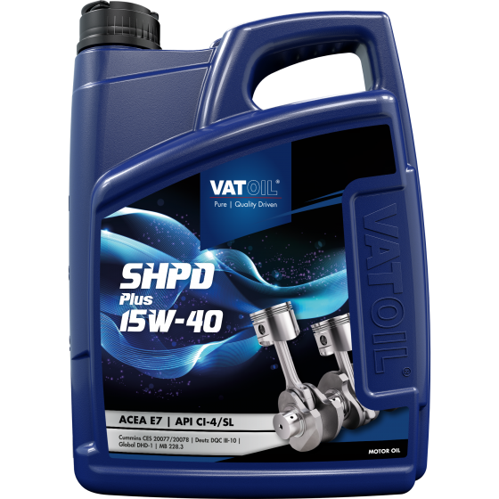 5 L can VatOil SHPD Plus 15W-40