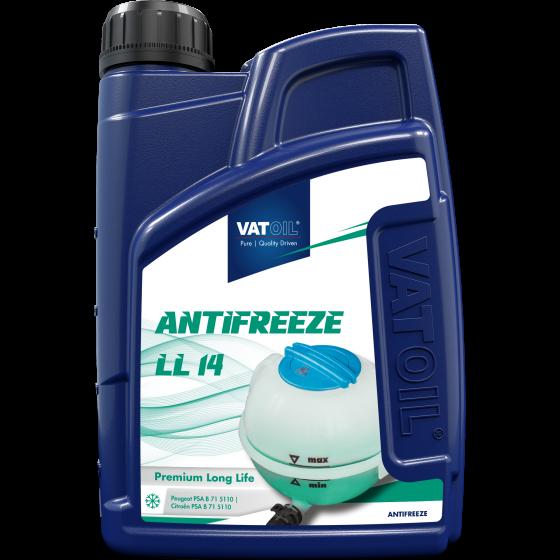 1 L bottle VatOil Antifreeze LL 14