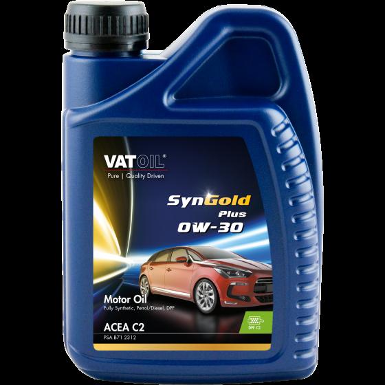 1 L bottle VatOil SynGold Plus 0W-30