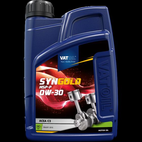 1 L bottle VatOil SynGold MSP-P 0W-30