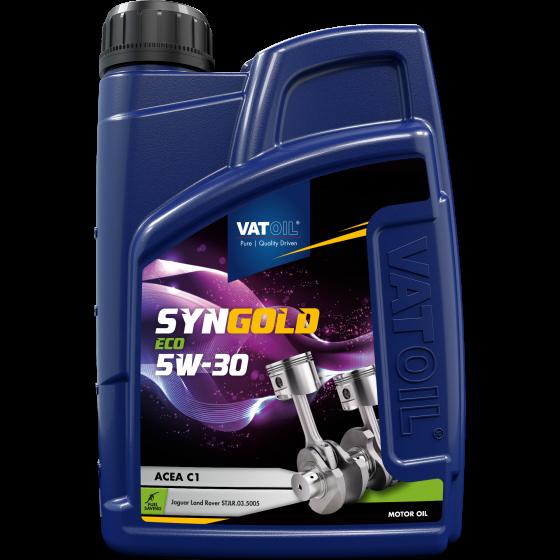 1 L bottle VatOil SynGold ECO 5W-30