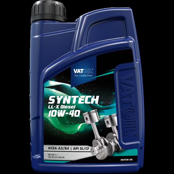 1 L bottle VatOil SynTech LL-X Diesel 10W-40