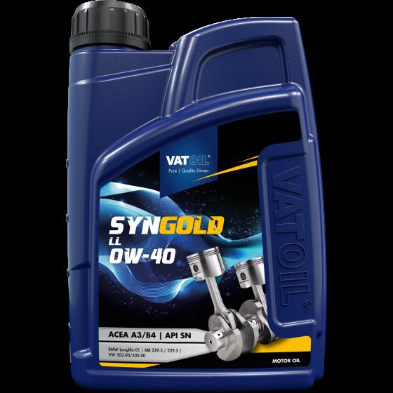 1 L bottle VatOil SynGold LL 0W-40
