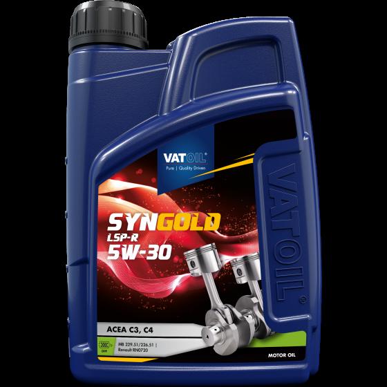 1 L bottle VatOil SynGold LSP-R 5W-30