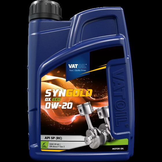 1 L bottle VatOil SynGold DX ECO 0W-20
