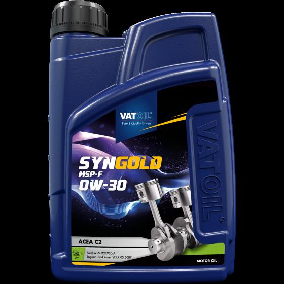 1 L bottle VatOil SynGold MSP-F 0W-30