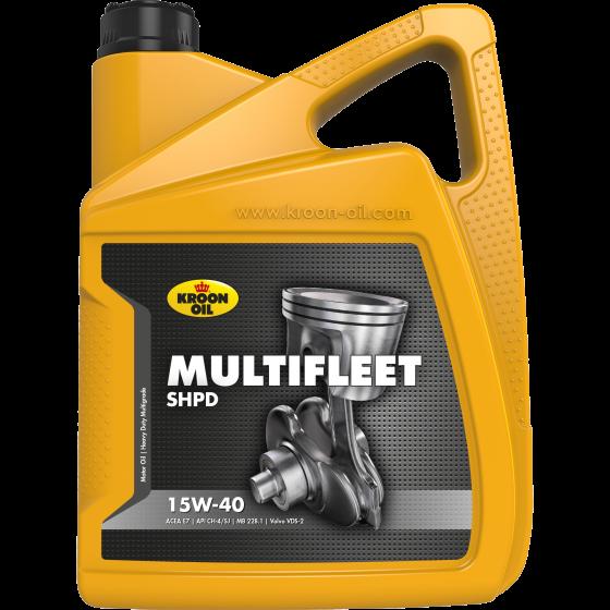 5 L can Kroon-Oil Multifleet SHPD 15W-40