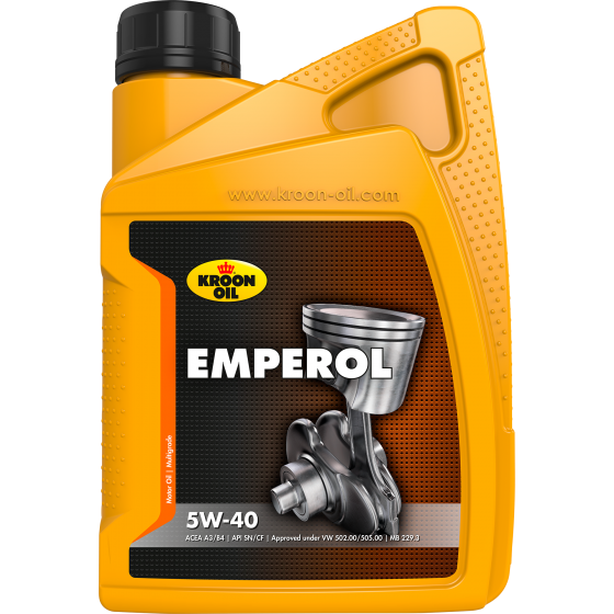 1 L bottle Kroon-Oil Emperol 5W-40