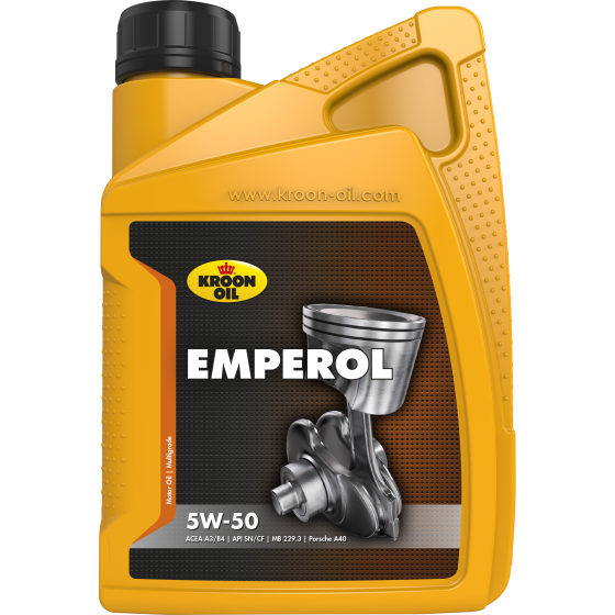 1 L bottle Kroon-Oil Emperol 5W-50