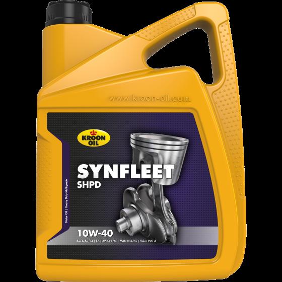 5 L can Kroon-Oil Synfleet SHPD 10W-40