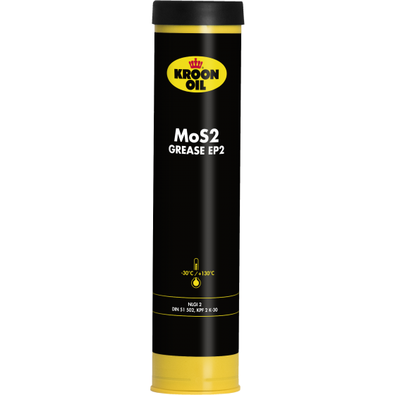 400 g cartridge Kroon-Oil MOS2 Grease EP 2