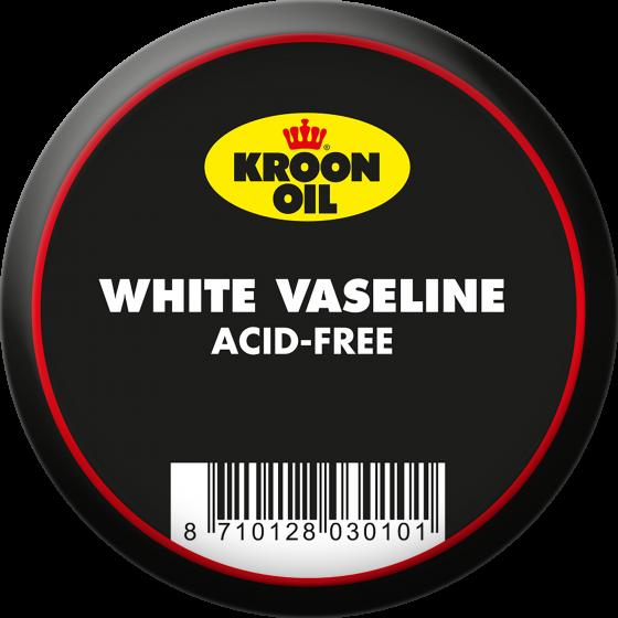 60 g blik Kroon-Oil Witte Vaseline