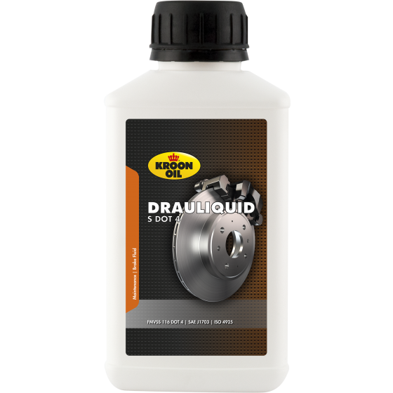 250 ml flacon Kroon-Oil Drauliquid-S DOT 4