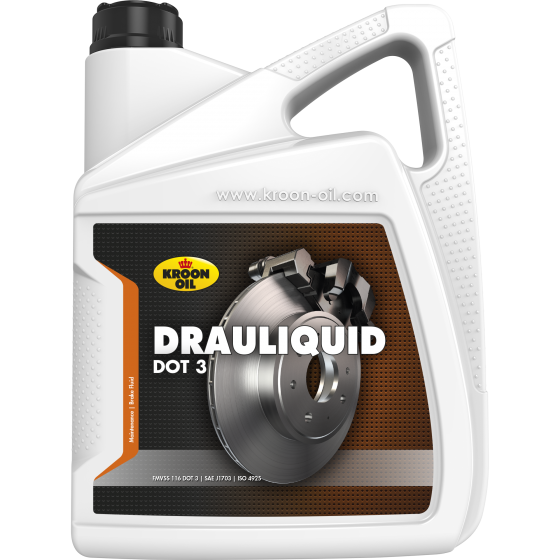 5 L can Kroon-Oil Drauliquid DOT 3