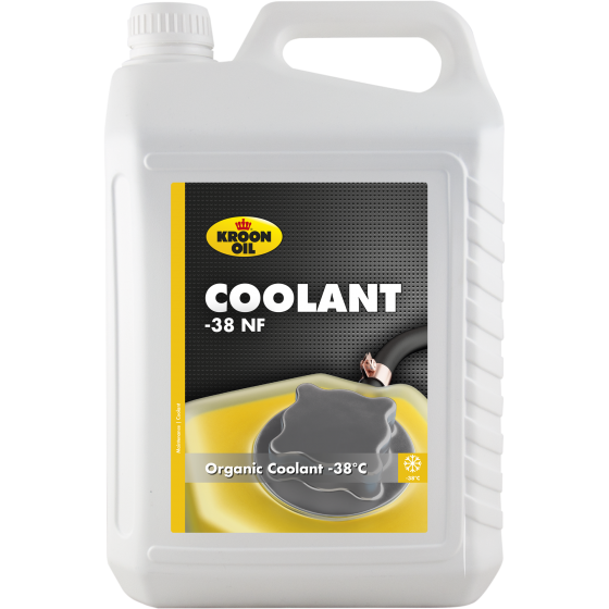 5 L can Kroon-Oil Coolant -38 Organic NF