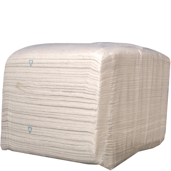 10 kg bale Kroon-Oil Cleaning Cloth White