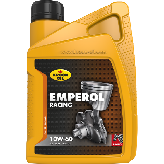 1 L bottle Kroon-Oil Emperol Racing 10W-60