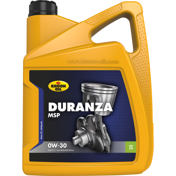 5 L can Kroon-Oil Duranza MSP 0W-30