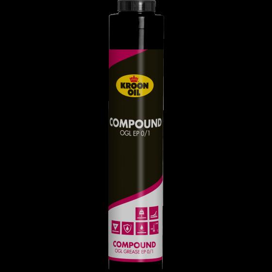 400 g Q-cartridge Kroon-Oil Compound OGL EP 0/1
