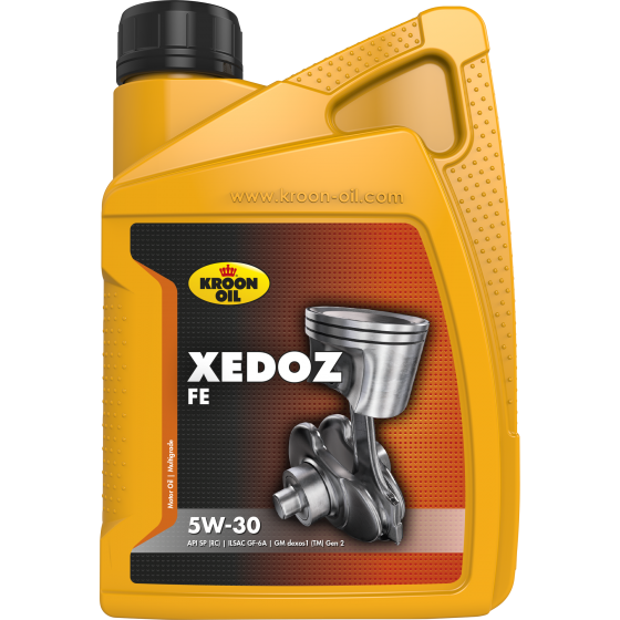 1 L bottle Kroon-Oil Xedoz FE 5W-30