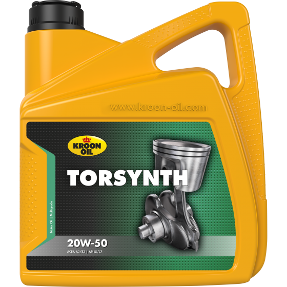 4 L can Kroon-Oil Torsynth 20W-50