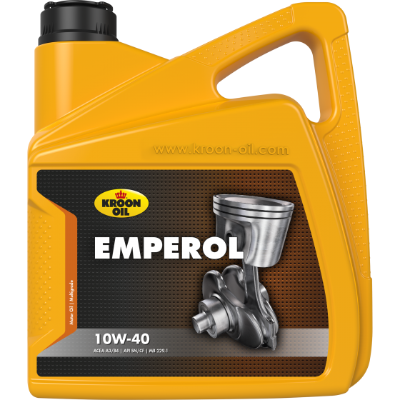 4 L can Kroon-Oil Emperol 10W-40
