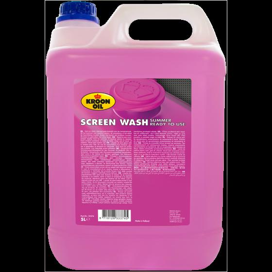 5 L can Kroon-Oil Screen Wash Summer