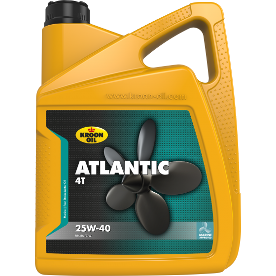 5 L can Kroon-Oil Atlantic 4T 25W-40