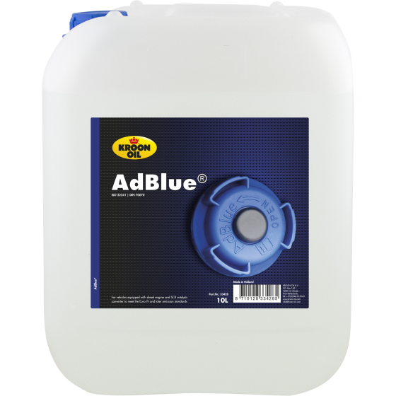 10 L can Kroon-Oil AdBlue