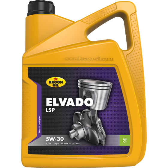 5 L can Kroon-Oil Elvado LSP 5W-30