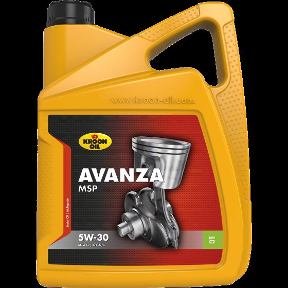 5 L can Kroon-Oil Avanza MSP 5W-30