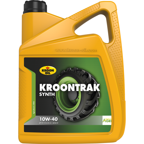 5 L can Kroon-Oil Kroontrak Synth 10W-40