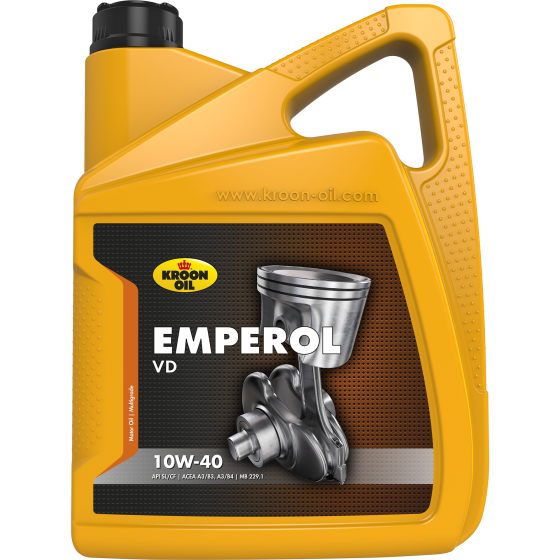 5 L can Kroon-Oil Emperol 10W-40 VD