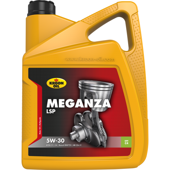 5 L can Kroon-Oil Meganza LSP 5W-30