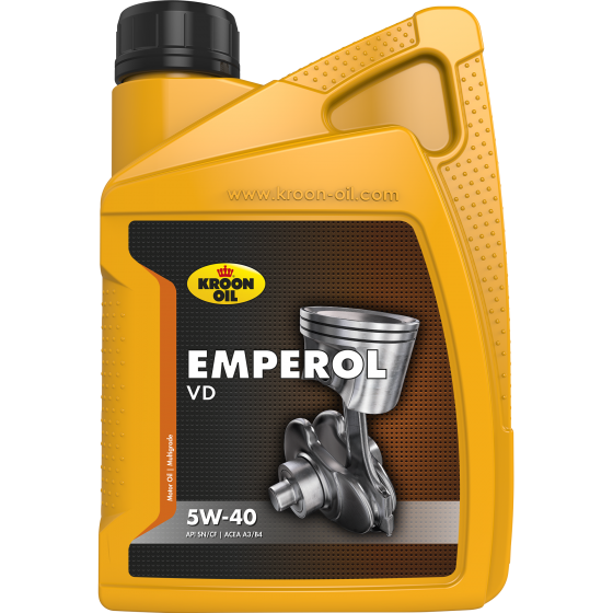 1 L bottle Kroon-Oil Emperol 5W-40 VD
