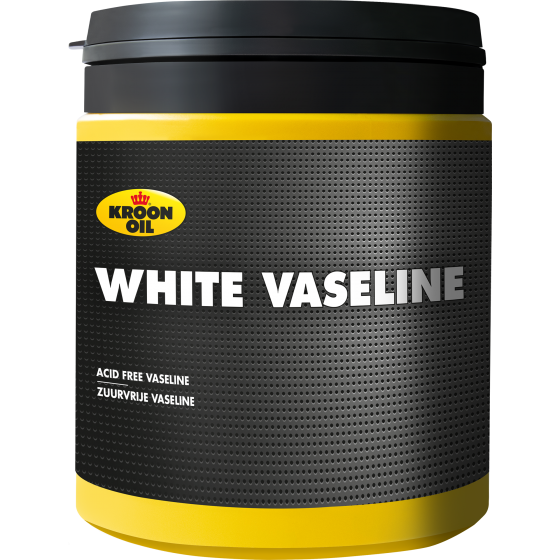 600 g pot Kroon-Oil White Vaseline