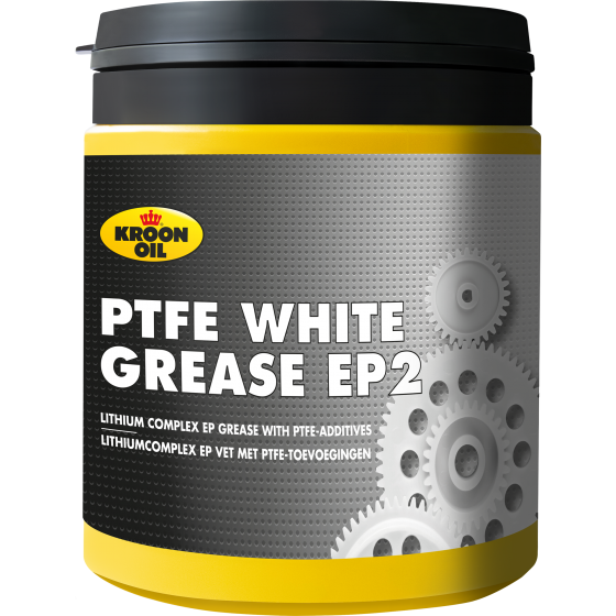 600 g pot Kroon-Oil PTFE White Grease EP2