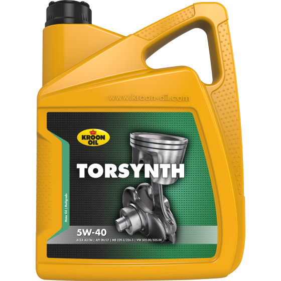 5 L can Kroon-Oil Torsynth 5W-40